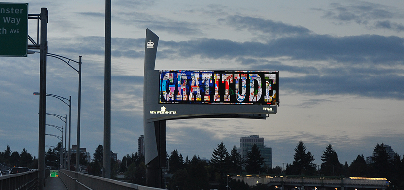 Peter Tunney -Bilboard Gratitude